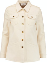 Co Ruffled cotton-twill jacket
