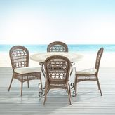 Pier 1 Imports Paloma Brown Mosaic Table 5-Piece Dining Set