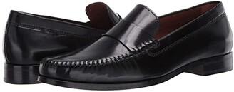 Trask Sutton (Black Italian Calfskin) Men's Shoes