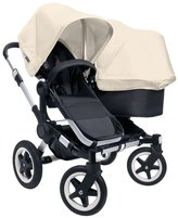 Bugaboo Donkey Complete Duo Stroller - Ice Blue - Black/Black