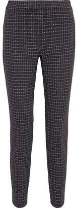 Donna Karan Stretch-jacquard Slim-leg Pants