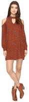 Brigitte Bailey Betha Cold Shoulder Long Sleeve Dress