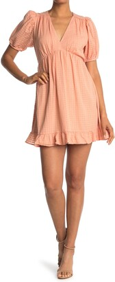 Collective Concepts Short Sleeve Open Back Dress