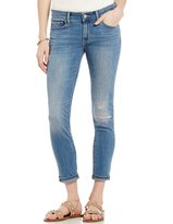 Levi's Levis 711 Destructed Woven Stretch Ankle Skinny Jeans