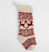 Rejuvenation Reindeer Wool Knit Stocking
