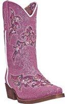 Laredo Western Boots Girls Glitterachi Cowboy 12 Child Glitter LC2235