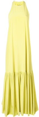Tibi halterneck maxi dress