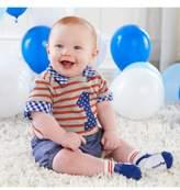 Baby Aspen My First Birthday Bodysuit, Shorts & Socks Set