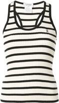 Chanel Pre Owned 1998 striped CC vest