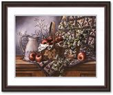 "KitchenArt ""Quilt, Pitcher and Apples"" Framed Art Print by T.C. Chiu"