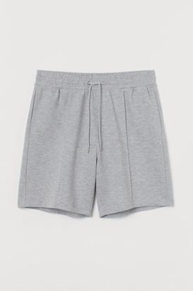 H&M Regular Fit Jersey Shorts - Gray