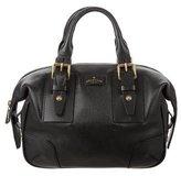 Belstaff Grained Leather Handle Bag