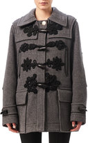 Altuzarra Morley Toggle-Front Coat