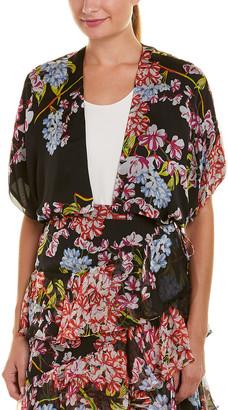 Josie Natori Silk Jacket