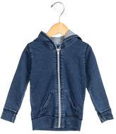 Nununu Boys' Hooded Zip-Up Sweatshirt