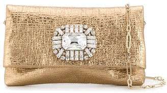 Jimmy Choo Titania crystal-embellished clutch