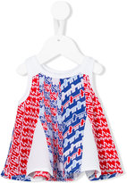 Kenzo abstract pattern shift top - kids - Polyester/Spandex/Elastane - 3 mth