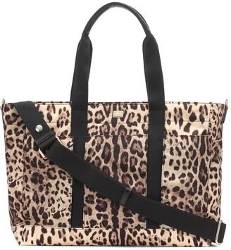 Dolce & Gabbana Kids Leopard-print changing bag