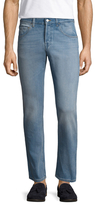 Gucci Cotton Faded Slim Fit Jeans