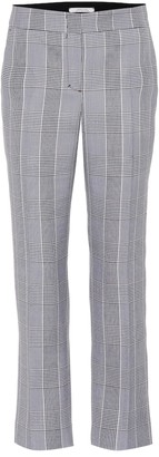 Dorothee Schumacher Sophisticated Punk checked pants