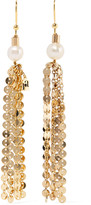 Rosantica Gioia gold-tone pearl earrings