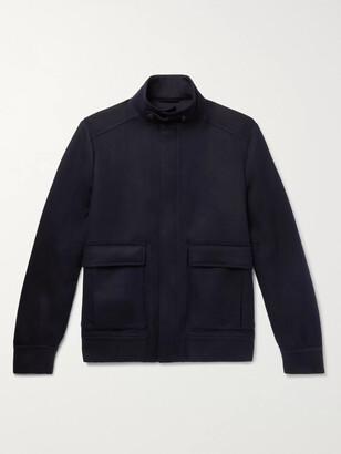 Loro Piana Cashmere Bomber Jacket - Men - Blue