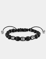 Thomas Sabo Obsidian Diamond Skull Bracelet
