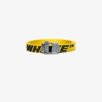 Off-White Yellow Mini 2.0 Industrial belt