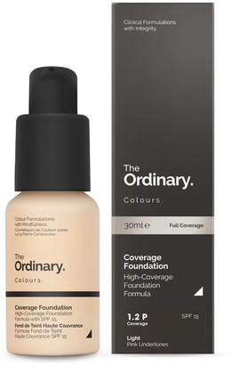 The Ordinary Colours Coverage Foundation With Spf 15 30Ml 1.0N Very Fair