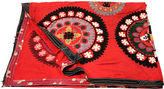 One Kings Lane Vintage Royal Red Suzani Tapestry