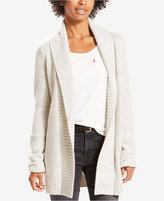 Levi's Long Marled Open-Shawl Cardigan