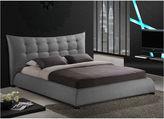 Asstd National Brand Baxton Studio Marguerite Linen Modern Platform Bed