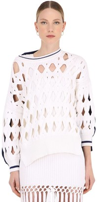 Sonia Rykiel Oversize Wool Blend Knit Sweater
