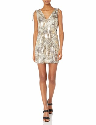 Haute Hippie Women's Easy Silk Dress with Tunnel at Shoulders