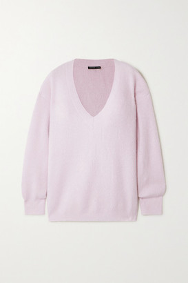 James Perse Cashmere And Silk-blend Sweater - Pink