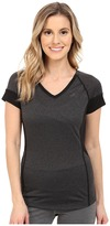 The North Face Reactor V-Neck Short Sleeve ) Women's Short Sleeve Pullover