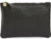 Clare Vivier 'Supreme' Leather Zip Clutch