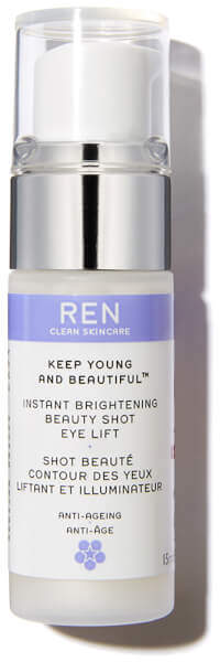 Ren Clean Skincare REN Keep Young and Beautiful Instant Brightening Beauty Shot Eye Lift (15ml)