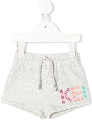 Kenzo Kids Logo-Print Shorts