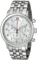 88 Rue du Rhone Men's 87WA120044 Analog Display Swiss Quartz Silver Watch