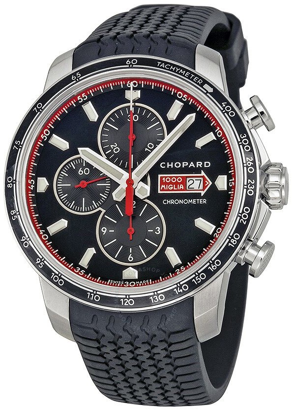 Chopard Mille Miglia GTS Chronograph Black Dial Men's Watch