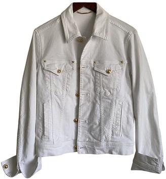 Versace White Denim - Jeans Jackets
