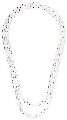 FEDERICA TOSI Double Rolo Chain Necklace