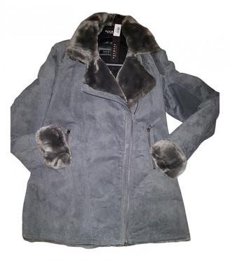 Oakwood Grey Leather Coats