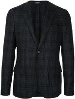 Lanvin checked classic blazer