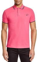 McQ Swallow Tipped Slim Fit Polo Shirt