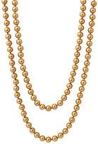 Lauren by Ralph Lauren 'Granada' 8mm Glass Pearl Extra Long Rope Necklace
