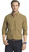 Arrow Big & Tall Classic-Fit Plaid Button-Down Shirt