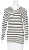 Anine Bing Striped Long Sleeve T-Shirt w/ Tags