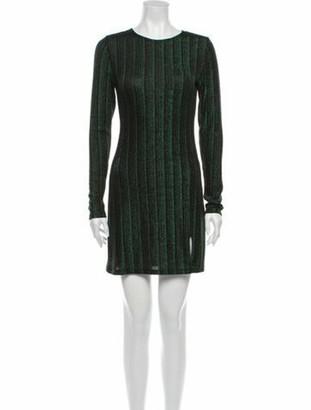 Reformation Scoop Neck Mini Dress w/ Tags Green